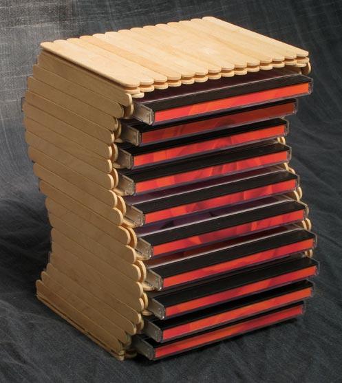 cd shelf design